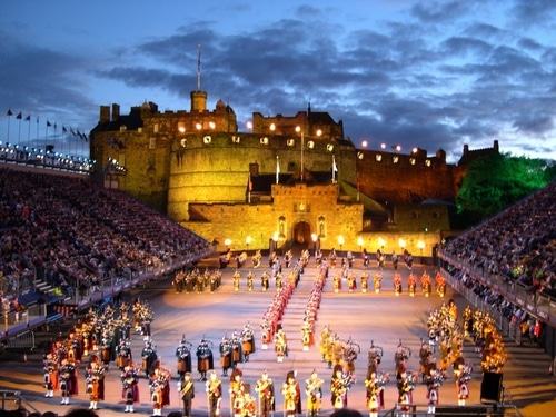 lễ hội Edinburgh Scotlan