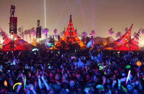 lễ hội âm nhạc Coachella ở Mỹ