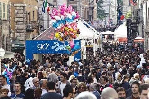 lễ hội chocolate lớn nhất Italy