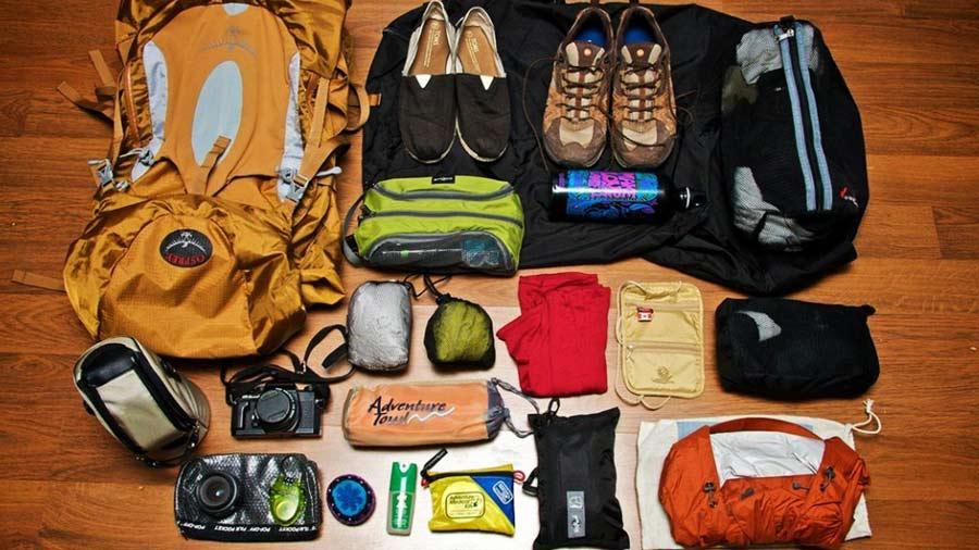 Chuẩn bị hành lý du lịch Mộc Châu