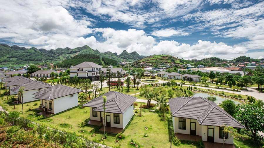 Resort Thảo Nguyên tươi xanh, trong lành