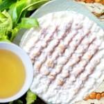 Về Hà Tĩnh nhâm nhi bánh cu đơ với trà xanh