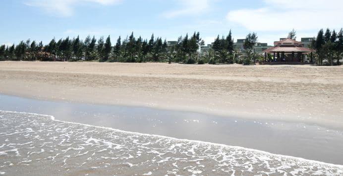 Biển hải tiến đẹp hoang sơ thơ mộng