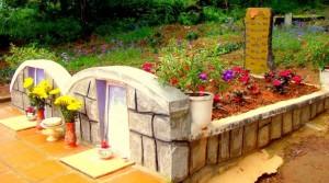 Đồi thông 2 mộ ở Đà Lạt