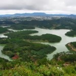 Thú vị dưới chân dãy núi Tam Đảo – hồ Bản Long