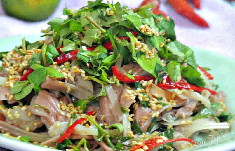 Gỏi cá đặc biệt của Sầm Sơn