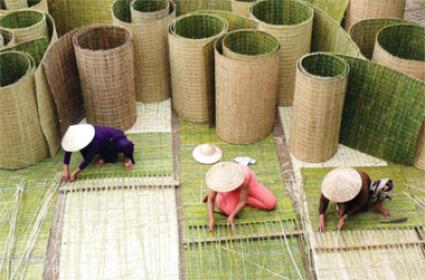 Làng nghề chiếu cói Vĩnh Thái Nha Trang