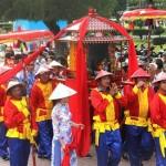 Tham gia lễ hội Cầu Ngư tại Nha Trang