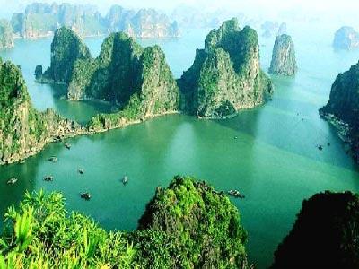 Nét đẹp Vịnh Hạ Long.