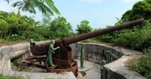 Pháo đài thần công đảo Cát Bà