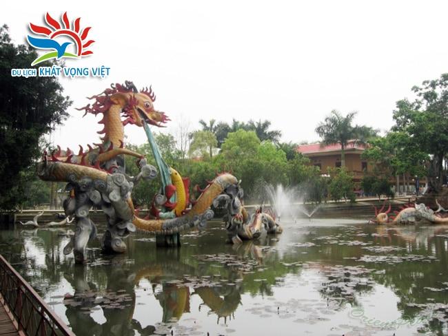 Khu du lịch Đầm Long - Điểm du lịch thú vị cho người Hà Nội