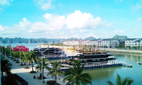 Cảng tàu phục vụ du lịch Tuần Châu