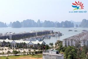 Cảng Tuần Châu nhìn từ xa