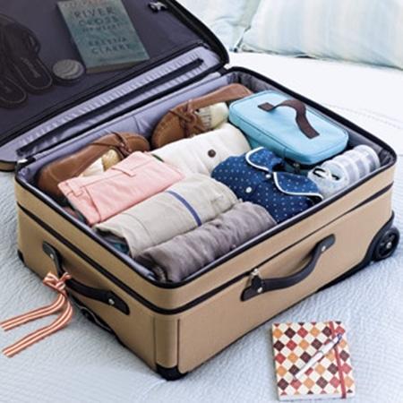 Chuẩn bị đồ du lịch