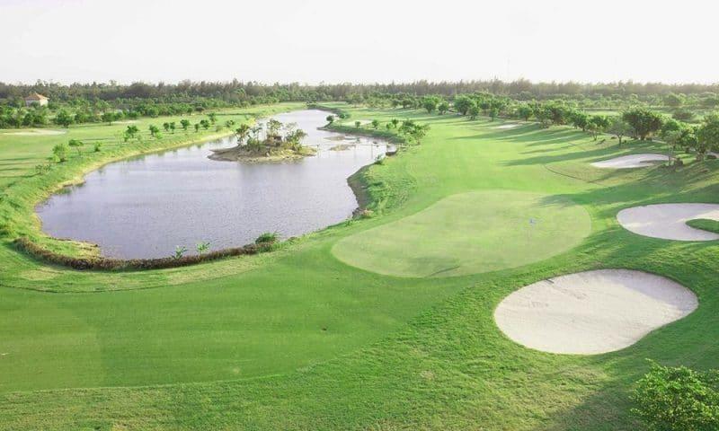 Sân Golf hiện đại của Cửa Lò golf resort