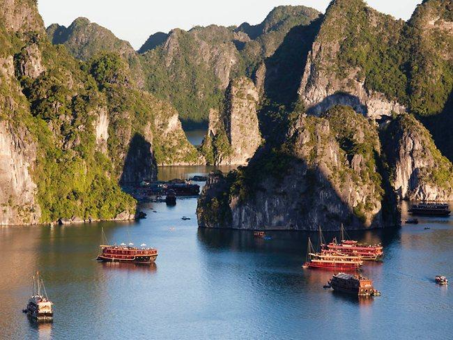 Những hòn đảo đẹp vịnh Hạ Long