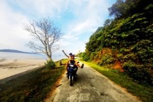 Du lịch Cô Tô bằng xe máy