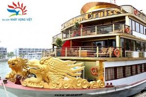 Du thuyền Golden Cruise tại cảng Tuần Châu