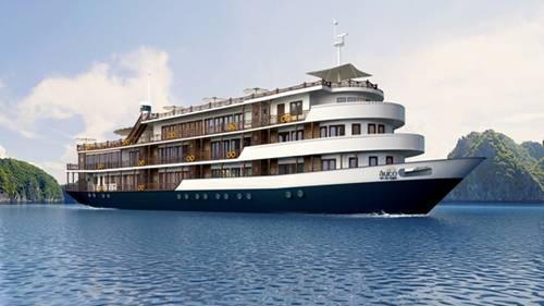 Được đừng trên chiếc du thuyền sang trọng thưởng thức phong cảnh Vịnh Hạ Long thì còn gì tuyệt vời hơn!