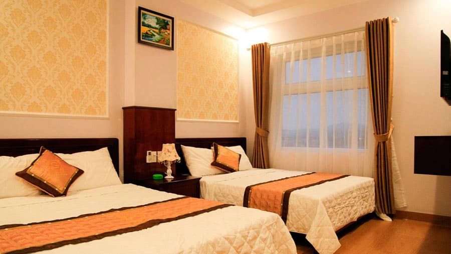 Khách sạn Golden Cô Tô với không gian ấm cúng