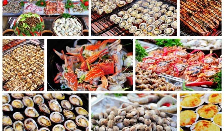 Cát Bà với vô số món hải sản tươi ngon