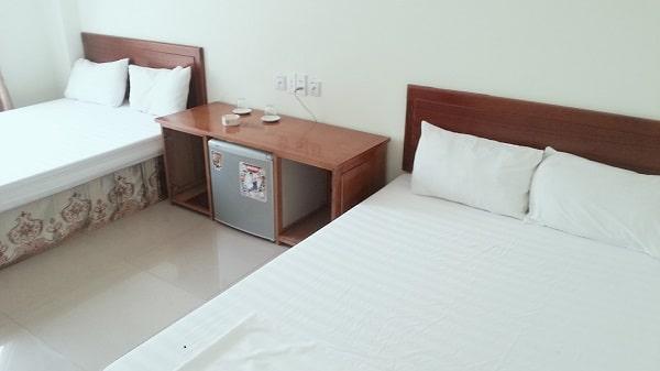 Phòng nghỉ đầy đủ tiện nghi hiện đại, thoáng mát