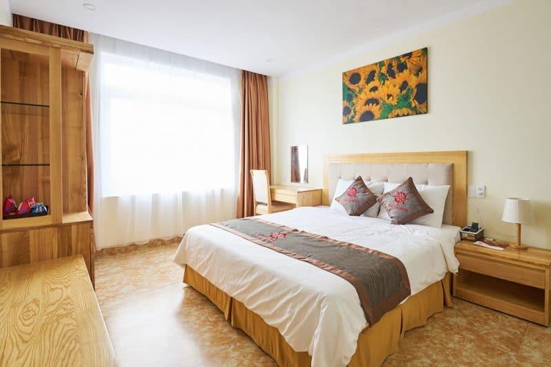 Phòng căn hộ với đầy đủ tiện nghi đem đến cho Quý khách cảm giác thoải mái như đang ở trong chính căn phòng của mình