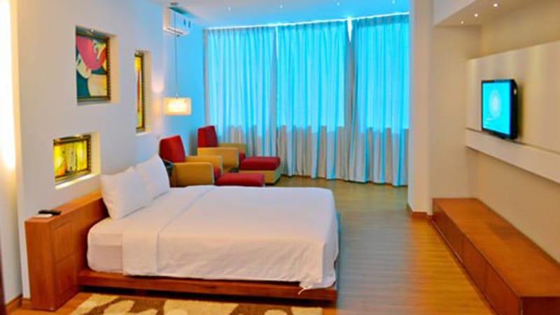 Phòng khách sạn đầy đủ tiện nghi, đạt tiêu chuẩn 3 sao