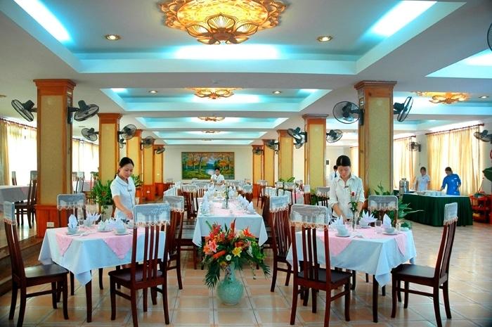 Nhà hàng của khách sạn Xanh Cửa Lò