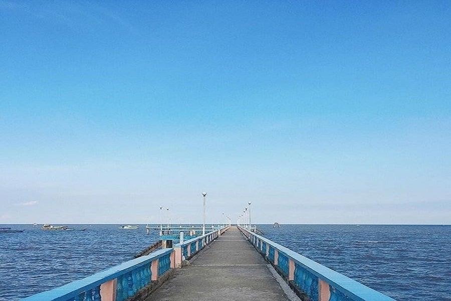 Biển Thanh Tâm thu hút du khách