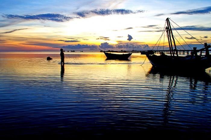 Buổi sáng tuyệt vời trên biển Xuân ThànhBuổi sáng tuyệt vời trên biển Xuân Thành