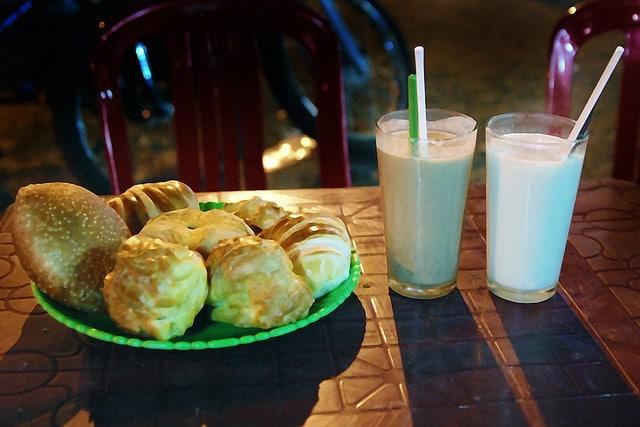 Ly sữa đậu nành ấm áp trong ngày đông Đà Lạt