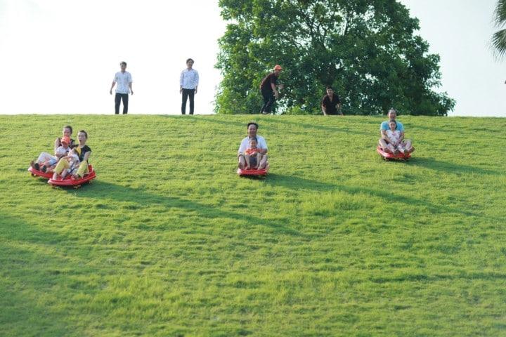 Thảo Viên Resort hút khách mạnh dịp cuối tuần