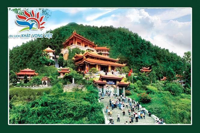 Thiền viện Tây Thiện Trúc Lâm Tam Đảo uy nghiêm