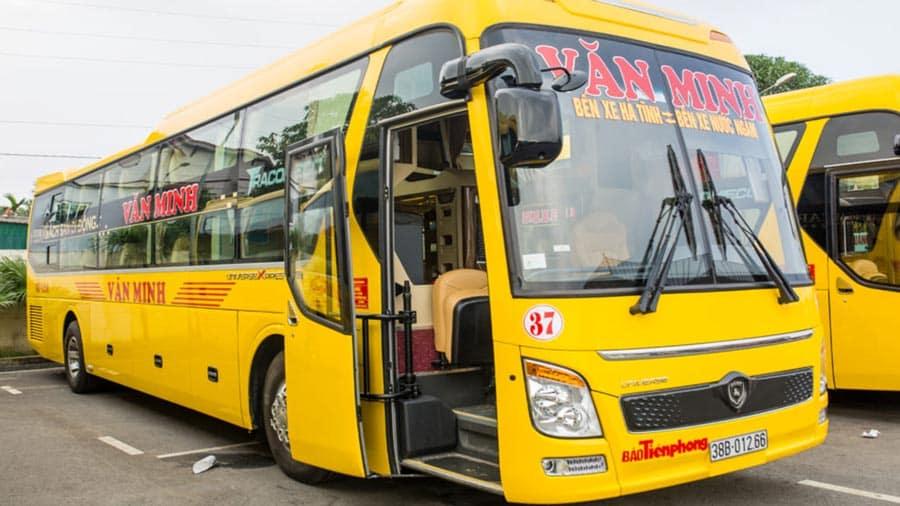 Xe khách là lựa chọn lý tưởng đi du lịch Bãi Lữ Nghệ An