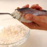 Món ăn: Mực nhồi cơm và ngũ cốc