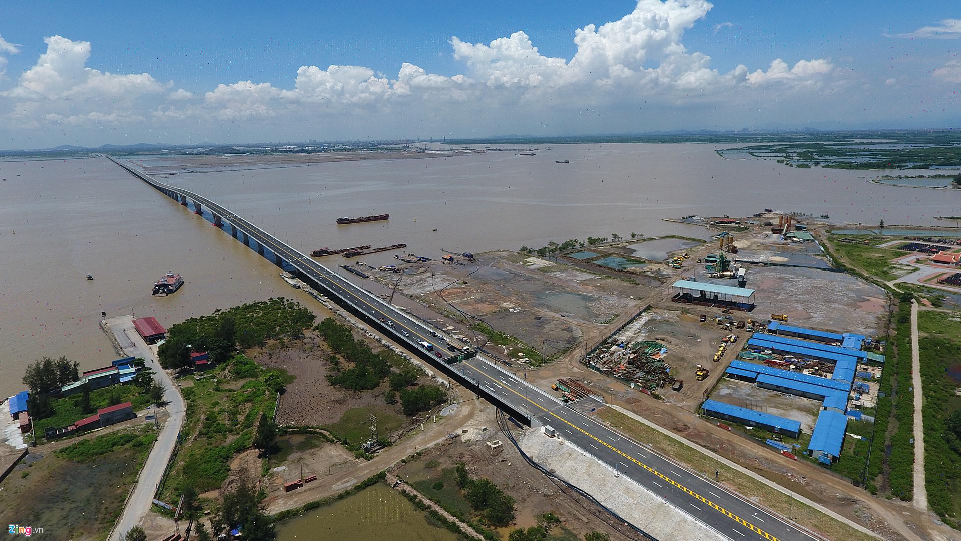 Tân Vũ - Lạch Huyện, cầu vượt biển dài nhất Việt Nam
