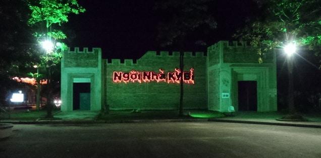 Ngôi nhà kỳ bí, khiến nhiều du khách phải khiếp sợ