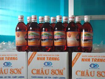 Nước mắm Châu Sơn Nha Trang