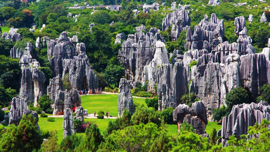 Sự kì bí của vườn đá Thạch Lâm