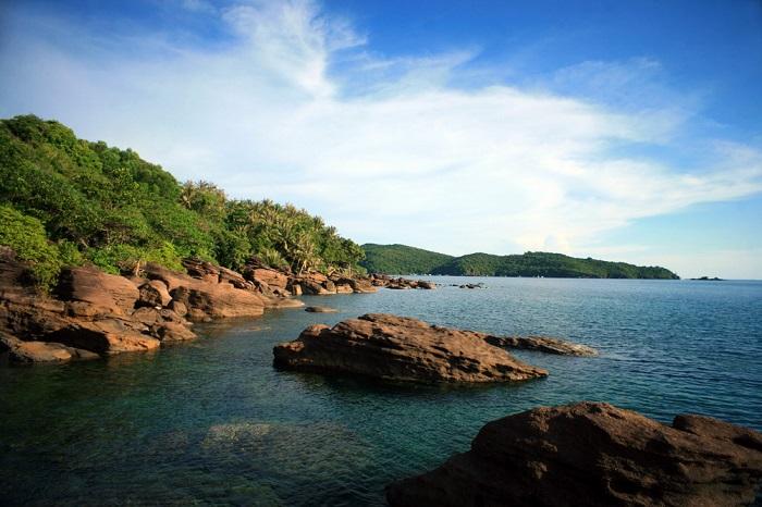 Một góc của đảo Phú Quốc