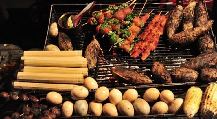 Đồ nướng ở Sapa rất đa dạng, phong phú với hương vị đặc trưng nhưng đặc biệt nhất vẫn là trứng nướng