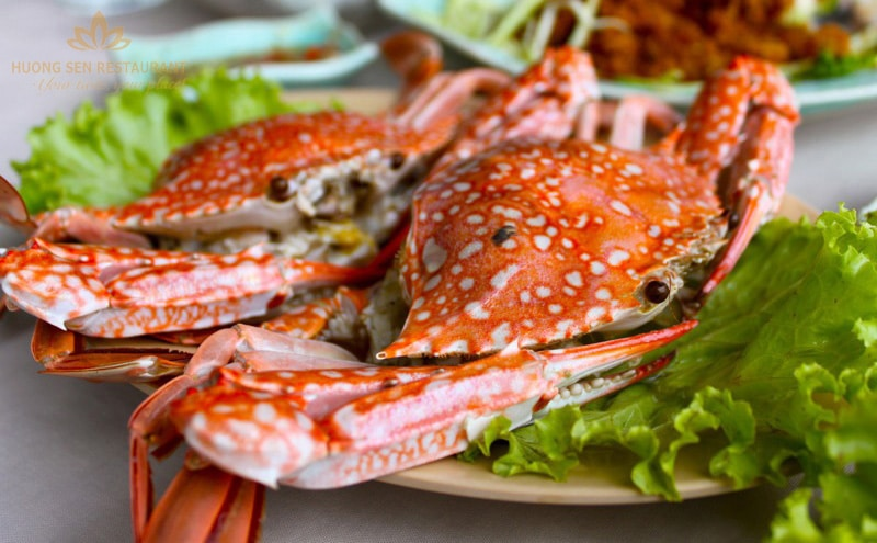 Ghẹ - 1 loại hải sản nổi tiếng của Tuần Châu