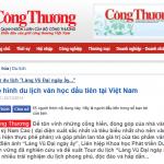 Mô hình du lịch văn học đầu tiên tại Việt Nam do công ty Du lịch Khát Vọng Việt tổ chức