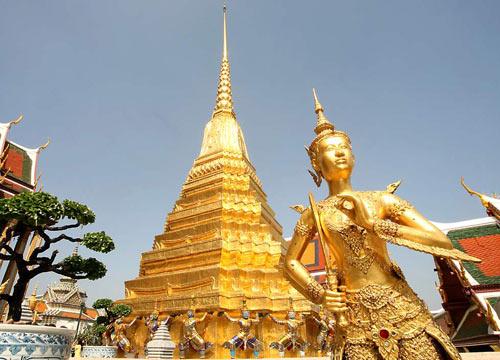 Chùa Wat Phra Kaew ở Bangkok