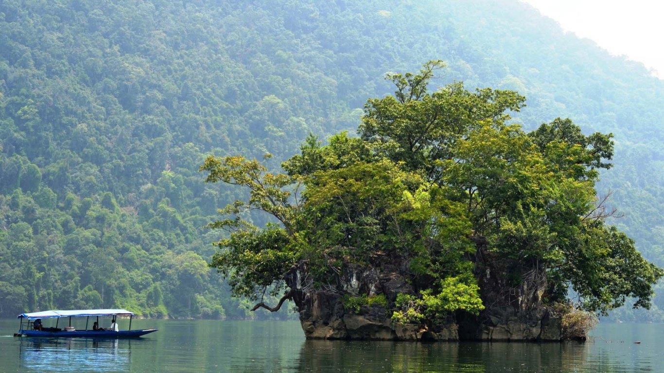 Đảo Bà Góa - điểm đến không thể bỏ lỡ khi du lịch hồ Ba Bể