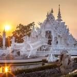 Du lịch Thái Lan sững sờ trước vẻ đẹp tinh khôi của ngôi đền trắng