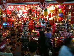 Chinatown rực rỡ trong đêm tối