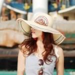 Cách chọn mũ đi biển cho một tour du lịch hè 2015 xinh tươi