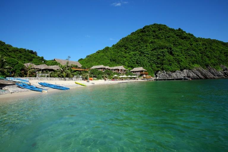 Vui hè trên Đảo Khỉ Cát Bà